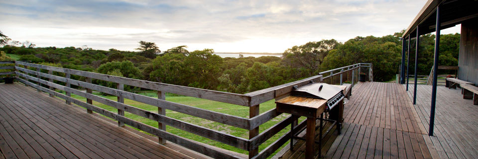 The view from the Tarooki decking